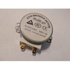 Мотор для микроволновой печи 220V (пластиковый вал)