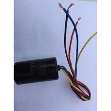 Пусковой конденсатор для стиральной машины Saturn 5 + 3 мкФ - CBB-60, 450V