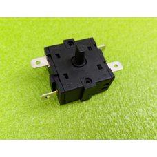 Переключатель мощности на 4 выхода (контакты 2+2) / 16A / 250V T125 для обогревателей, бойлеров    Китай