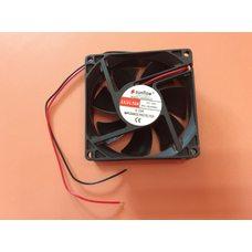 Вентилятор осевой универсальный Sunflow 80мм*80мм*25мм / 24V / 0,10А /(квадратный)