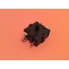 Переключатель мощности на 6 выходов (контакты 3+3) / 16A / 250V для обогревателей, электрокаминов    Китай