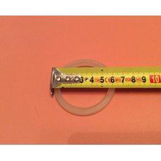 Резиновый уплотнитель для бойлеров Thermex - круглый / узкий (тонкий, белый) Ø63мм на тэны