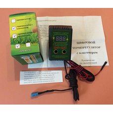 Терморегулятор с ВЛАГОМЕРОМ цифровой двухпороговый