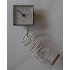 Термометр квадратный капиллярный (45мм * 45мм) Tmax = 120 ° С / длина капилляра L = 1м Украины