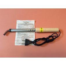 Паяльник бытовой электрический 100 Вт / 220В (загнутое жало)