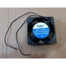 Вентилятор осевой универсальный Tidar 92мм*92мм*25мм 0,09А 12W квадратный