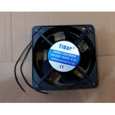 Вентилятор осевой универсальный Tidar 120мм*120мм*38мм / 220-240V / 0,14А / 23W (КВАДРАТНЫЙ)