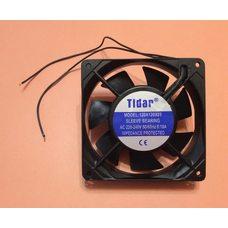 Вентилятор осевой универсальный Tidar 120мм*120мм*25мм / 220-240V / 0,10А / 13W (КВАДРАТНЫЙ)