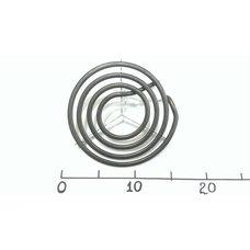 Тэн спиралевидный для электроплит Ø145/1500w с перемычкой Китайтэ