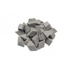Галтовочные тела (наполнитель для галтовки) керамические ERBA TRT 15 (скошенный треугольник)