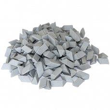 Галтовочные тела (наполнитель для галтовки) ерамический скошенный треугольник №14 10х15 мм (RMВ/D1 10/15 S)