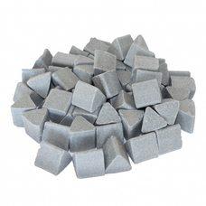 Галтовочные тела (наполнитель для галтовки) керамический треугольник №16 20х20 мм (RXXD 20/20 D)
