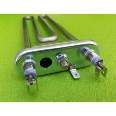 Тен для стиральных машин 1950W / 230V / L = 231мм (c отверстием под датчик) / С бортик, KAWAI