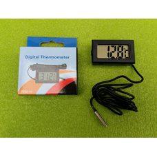 Термометр-градусник цифровой универсальный -50 ° C ... + 110 ° C (на батарейках) ЧЕРНЫЙ Китай