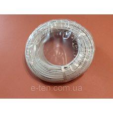Провод медный термостойкий SIAF-GL - пересечение 6.00мм / L = 100м (в изоляции + со стекловолоконной оплеткой) Турция