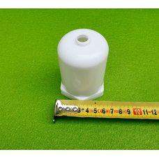 """Колпак пластиковый защитный (БЕЛЫЙ) под любой ТЭН с резьбой 1 1/4 """"(для ТЭНов в чугунные батареи и др.)"""