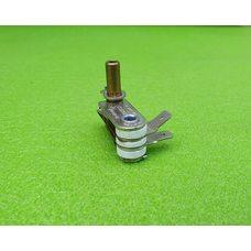 Терморегулятор для электроплит, утюгов KST820B / 16А / 250V / T250  высота стержня h=15мм