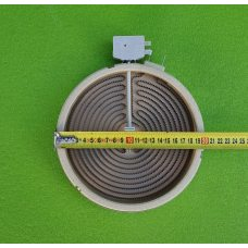 Электроконфорка Heatwell - Ø200мм (S8900) / 1800W / 240V (на 2 контакта) для стеклокерамических поверхностей