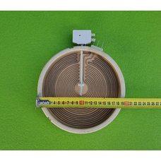 Электроконфорка Heatwell - Ø200мм (S8700) / 1700W (спирали 1000W+700W) / 230V (на 3 контакта) для электроплит
